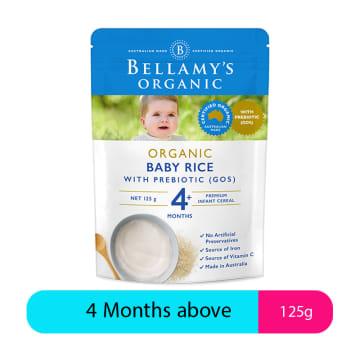 Bellamy's Organic Baby Rice (125g)