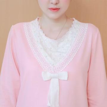 Ai Yi Ku ကိုယ်ဝန်ဆောင်အင်္ကျီ (Pink)