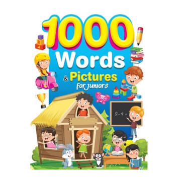 1000 Words & Pictures For Juniors
