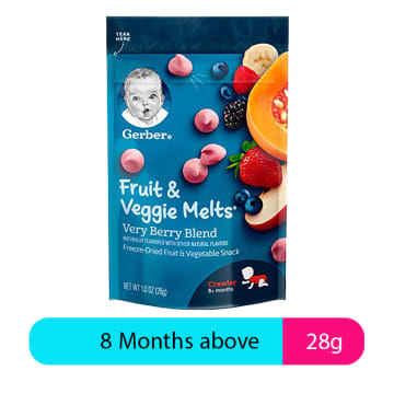 Gerber Fruit & Veggie Melts