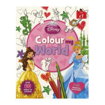 Disney Princess Colour My World