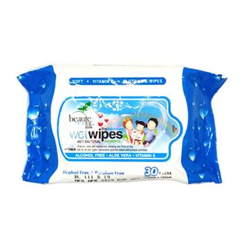 Beaute Life Wet Tissue - Blue 30's