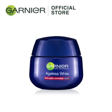 GARNIER Ageless White Anti-Aging & Whitening Night  Cream-50ml