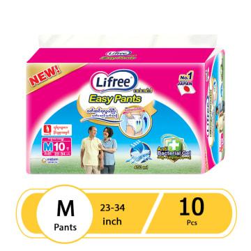 Lifree  Diaper Pant  M (10 Pcs)