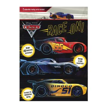 Disney Pixar Cars 3 Race On!: 2 Collectible Trading Cards Included