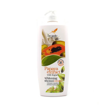 Beaute Life Shower Cream - Papaya 1L