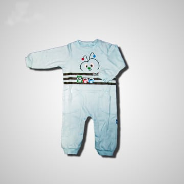 Baby Mommy Badysuit Interlock Turquoise Size-1 (0-1 M)