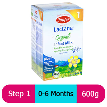 Topfer Lactana Inface Milk (Step-1) 600g