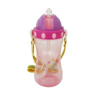 Little Bean- PP Drinking Cup with Belt-400ml