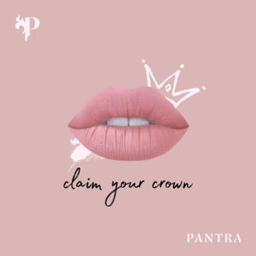Pantra Velvet Matte Lip Crayon 05 Charm 1.5G