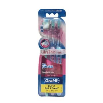 Oral B Ultra Thin Pro Gum Care Soft 3 BCd