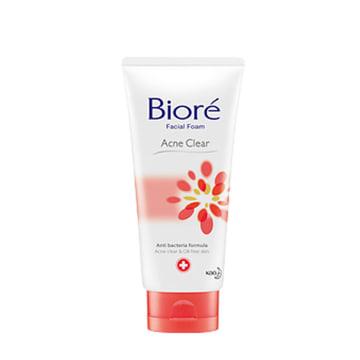 Biore Facial Foam Pure Acne Clear (BFA-Orange)