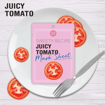 Cathy Doll - Sweet Receipe  Mask Sheet#Tomato