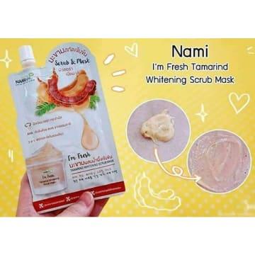 Nami I'm fresh Tamarind Whitening Scrub Mask - 30g