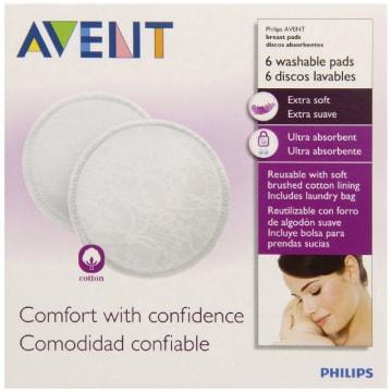 Philips Avent-Wash Breast Pads - SCF-155/06