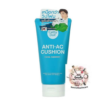 Cathy Doll - Anti-AC Cushion Facial Cleanser 120ml