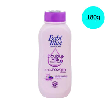 Babi Mild Powder Double Milk (180 g)