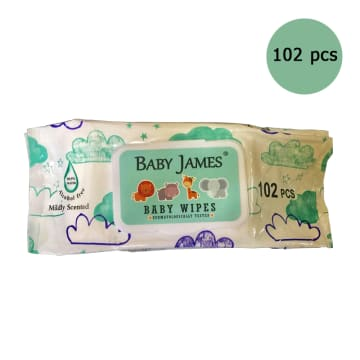 Baby Jame  wipes (100pcs)