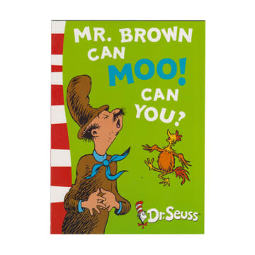 Dr Seuss mr.brown can moo can you