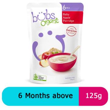 Bubs baby apple porridge 6+