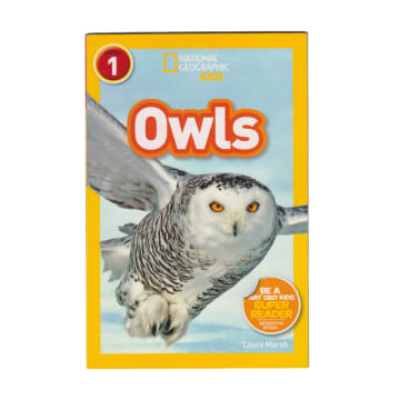 National Geographic Kids Owls (level 1)