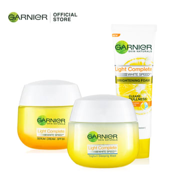 GARNIER LIGHT COMPLETE WHITENING Set