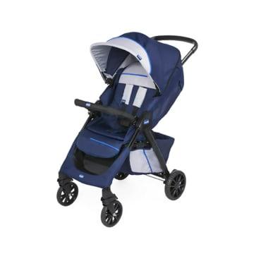 Chicco Kwik One Stroller Blue Print