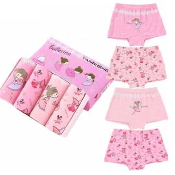 BD Kids Girl Underwear (4 Pcs)