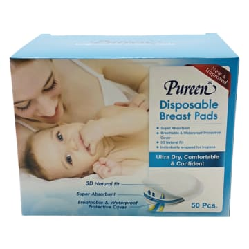 Pureen Disposable Breast Pads(50pcs)