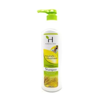 Herballines Shampoo Royal Jelly & Wheat 1000ml
