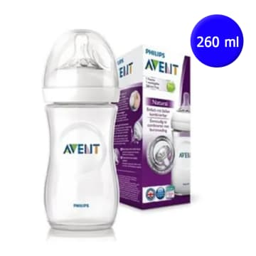 Philips Avent -Natural II Bottle 260ml/90oz Singal Pack-SCF-693/13