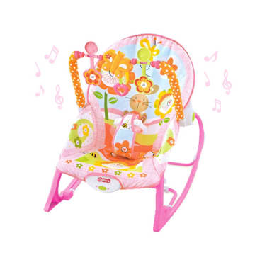 ibaby Infant - to - toddler rocker pink