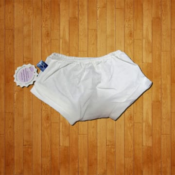 Baby Mammy Newborn White Pants Size-1 (0-1M)