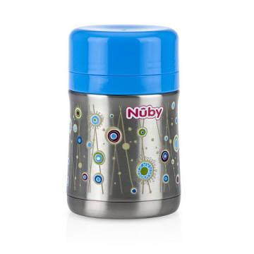 Nuby Stainless Steel Vacuum Insulated Food Jar (6m+)