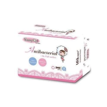UUcare - Young Girl Antibacterial Day 240mm 16s