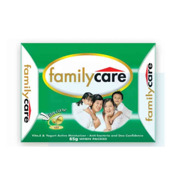 Family Care Skin CLs Bar Green 65g