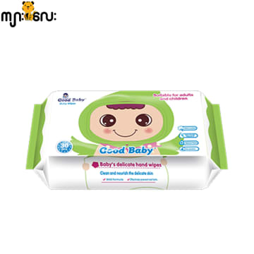 Good Baby Wipes (Green)-80 Pcs