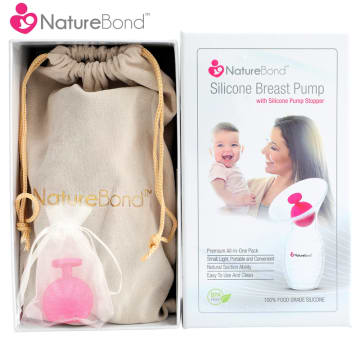 NatureBond - Silicone Breast Pump Premium Pack