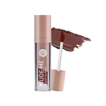 Cathy doll - Nude Me Liquid Lip Matte#16Sexy Brownie