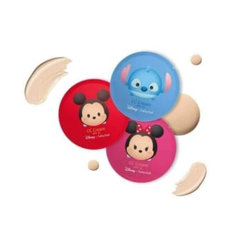 Cathy Doll - Disney CC Cream SPF15 4ml# Medium Beige