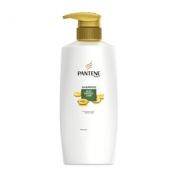 Pantene Shampoo 480ml (Silky Smooth)