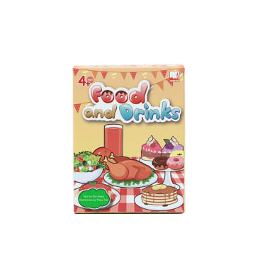 Food and Drinks Flash Card
