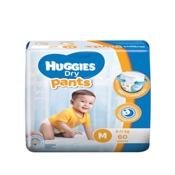 Huggies (Dry Pants Super Jumbo) M 60