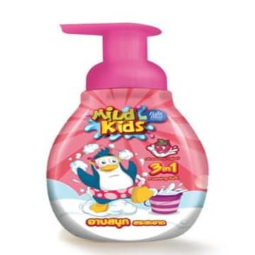 Babi Mild (Mild Kid Strawberry Yogurt 3 in 1 Bath)250ml