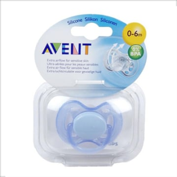 Soother free Flow Bpa Free  0-6m - SCF-178/13