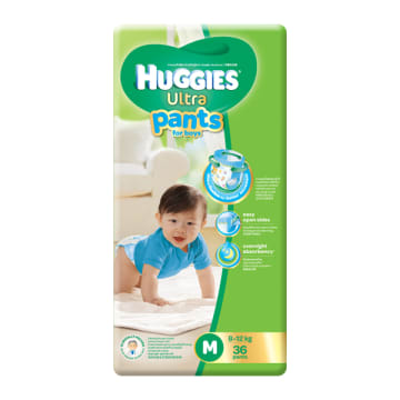 Huggies (Ultra Pants)  M-36 Boy