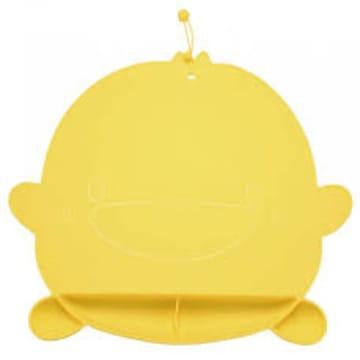 (piyopiyo) Silicone Bib(Yellow)