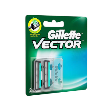Gillette Vector Plus 2's Blade