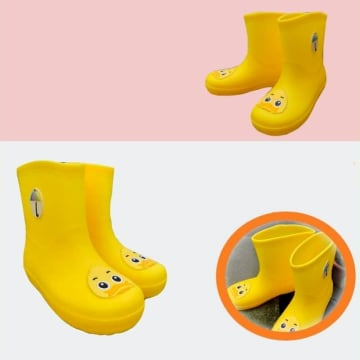 Baby Rain Boot (Yellow)