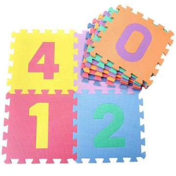 Eva Number Puzzle Mat (0 to 9)